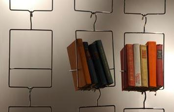 Hanging Book Shelf hanging bookshelf –unal & boler salkim |