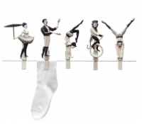 Acrobats Clothes Pins